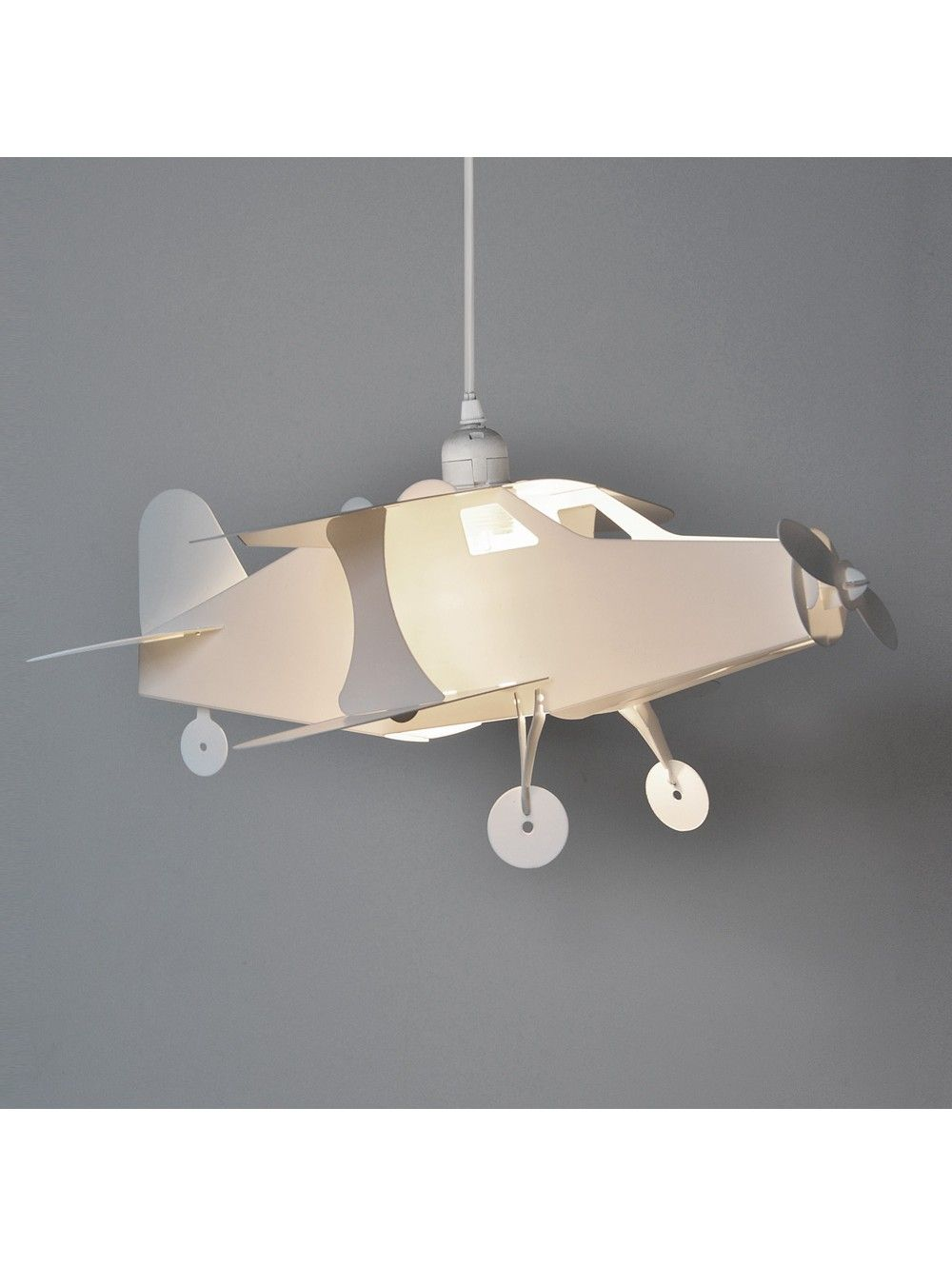 Children S Bedroom Aeroplane Pendant Ceiling Shade