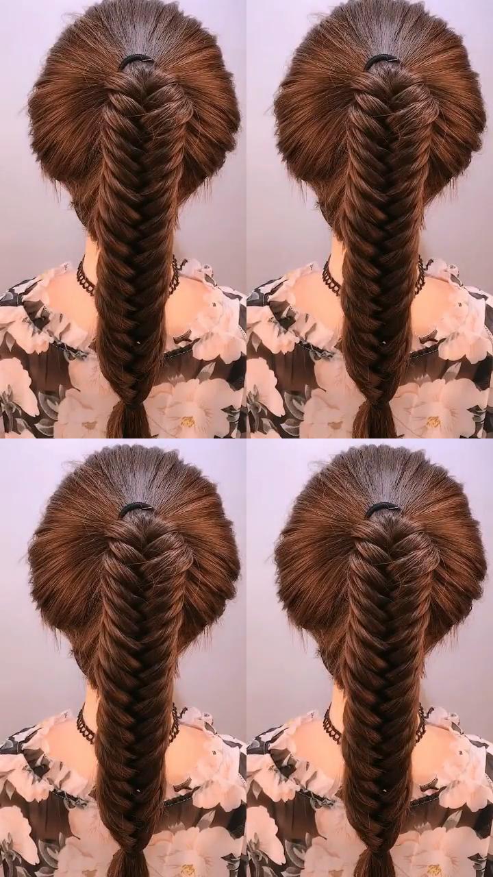 Double Dutch Fishtail Braid