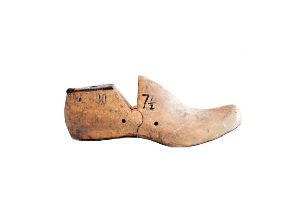 Antique Shoe Form The cobbler's kids go barefoot...poor kids! But lucky you! You get the cobbler's shoe form - which is a great conversation piece crafted by hand from a beautiful piece of vintage wood. These are perfect as paper weights, decorative items, or should you ever decide to become a cobbler - you'll be ready to go! http://www.charlieford.com