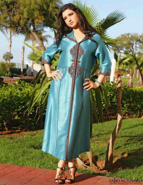 Djellaba Moroccan Clothing Moroccan Fashion Moroccan Dress