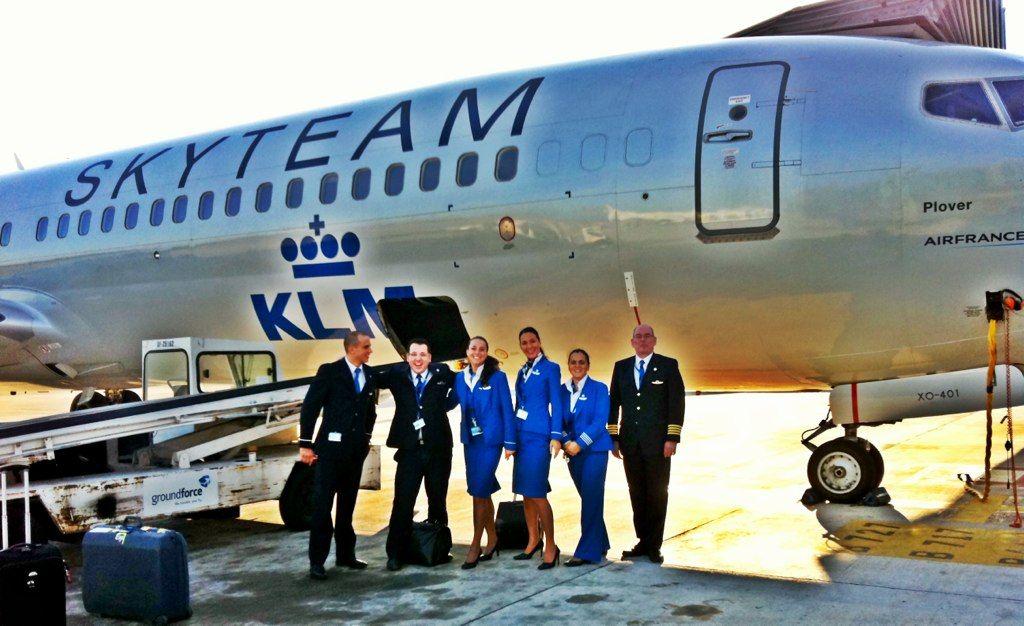 KLM Royal Dutch Airlines Crew Klm royal dutch airlines