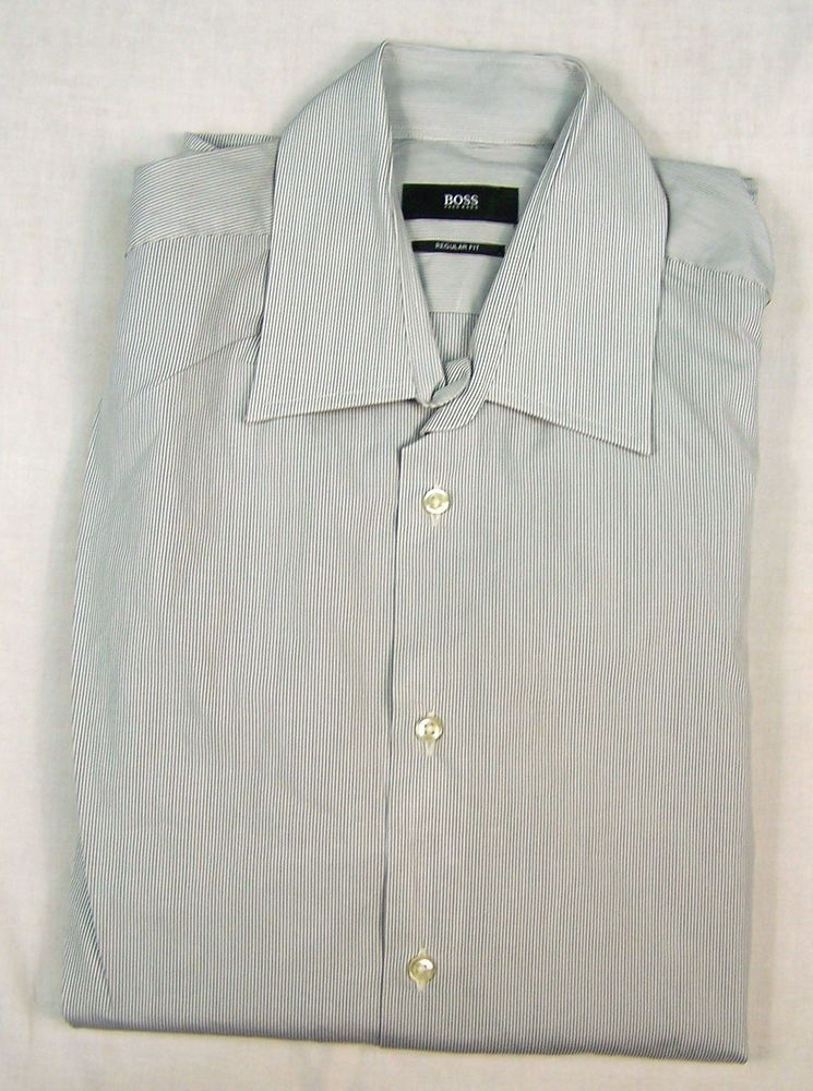 008ad6c8 HUGO BOSS MENS REGULAR FIT SHIRT Size 40 / 15 3?4 #fashion #clothing #shoes  #accessories #mensclothing #shirts (ebay link)