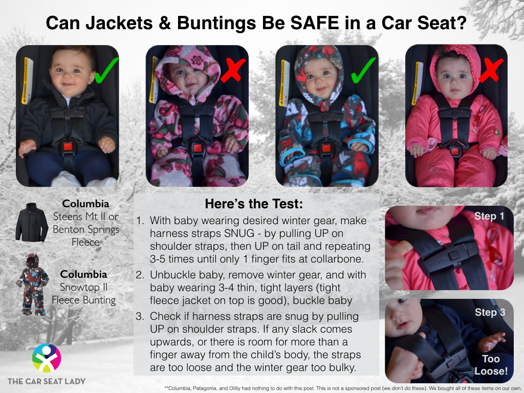 Jackets/snowsuits UNSAFE in car seats! | Baby - Play & Activities ...