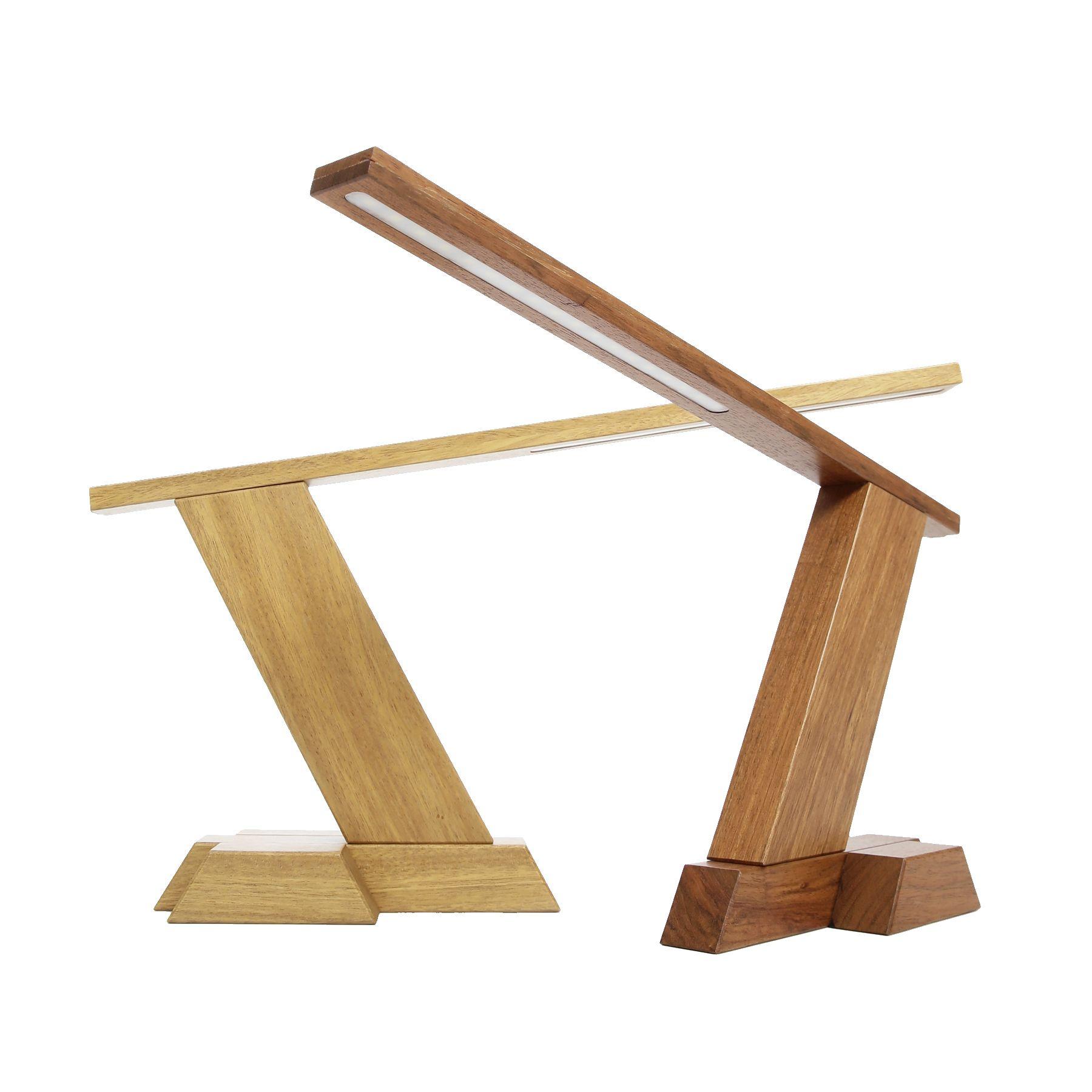 WOOleD Solid Wood DIY LED Desk Lamp Wood desk lamp, Led
