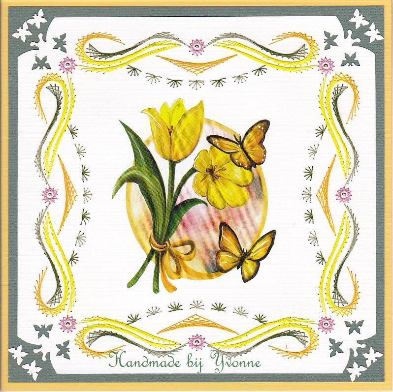 YB 118 Gele tulpen