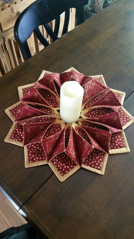 Photo of Fabric Wreath for table