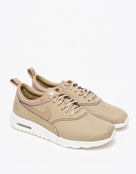 Nike Air Max Thea Premium in Desert | Shoes! | Nike shoes
