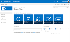 Why Sharepoint Online Is The Ideal Choice For A Document Management System Sharepoint Document Management System Project Site