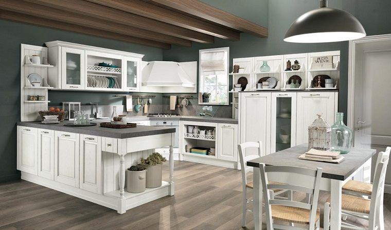 Cucine bianche classiche: una scelta di stile sempre al ...
