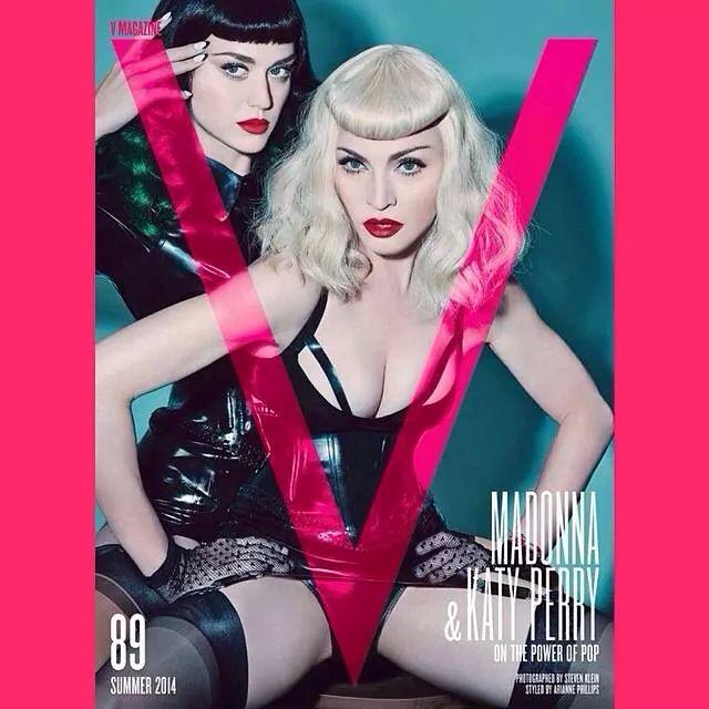 Madonna et Katy