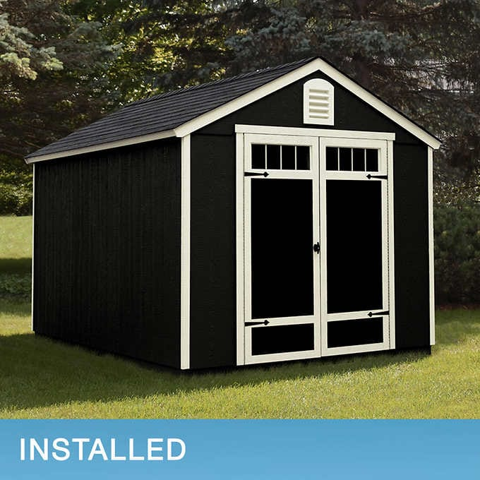 Installed Sheds By Yardline Waverly Shed In 2020 Shed Barn Style Doors Outdoor Storage Sheds