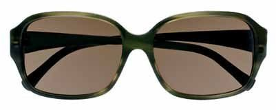 1b82968493 Cole Haan 602 Sunglasses Olive horn Frame Size 56-15-135 Cole Haan ...