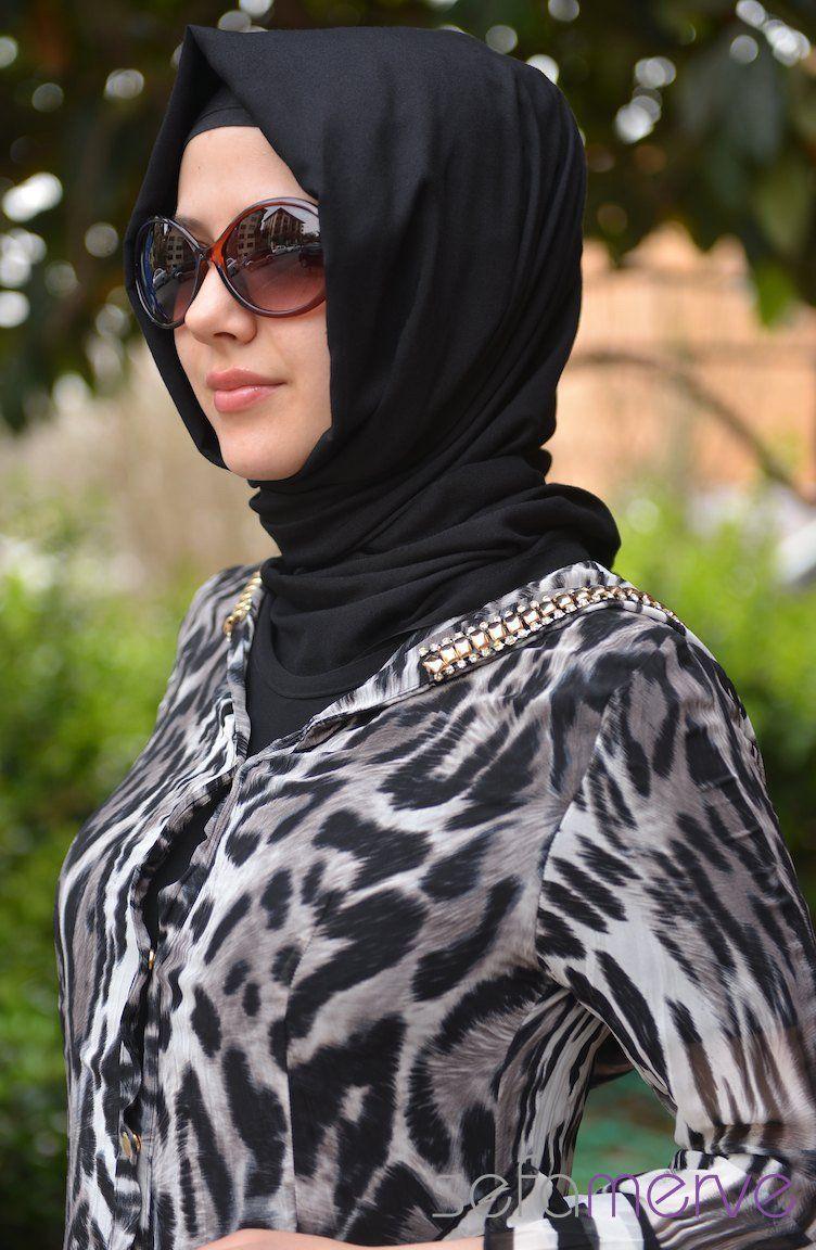 الشياكة والاناقة مالهاش حل مع اكبر تشكيلة ملابس محجبات 2013 Hijab Fashion Fashion Style