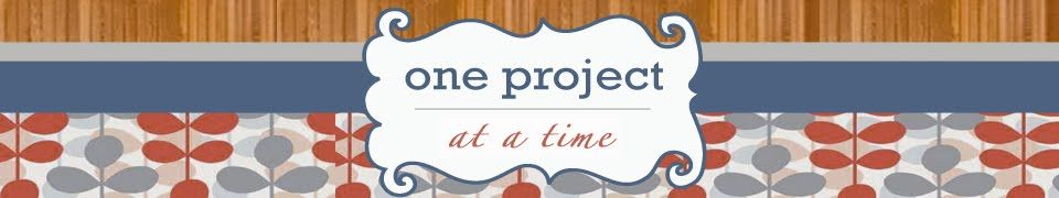 One Project at a Time - DIY Blog, I really have been enjoying looking this over!  Great advice here and there :)
