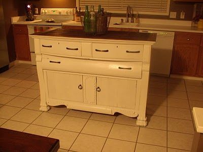 DIY Kitchen Island makeover Kitchen Ideas Pinterest Kitchen