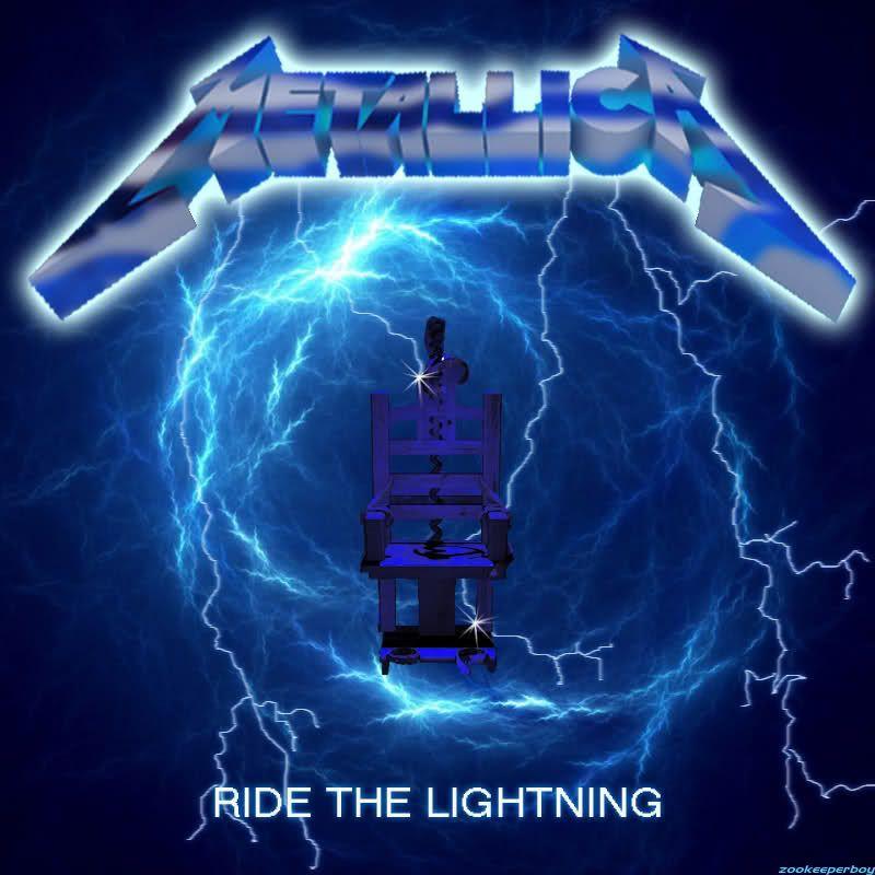 Metallica Ride The Lightning Wallpaper WallpaperSafari