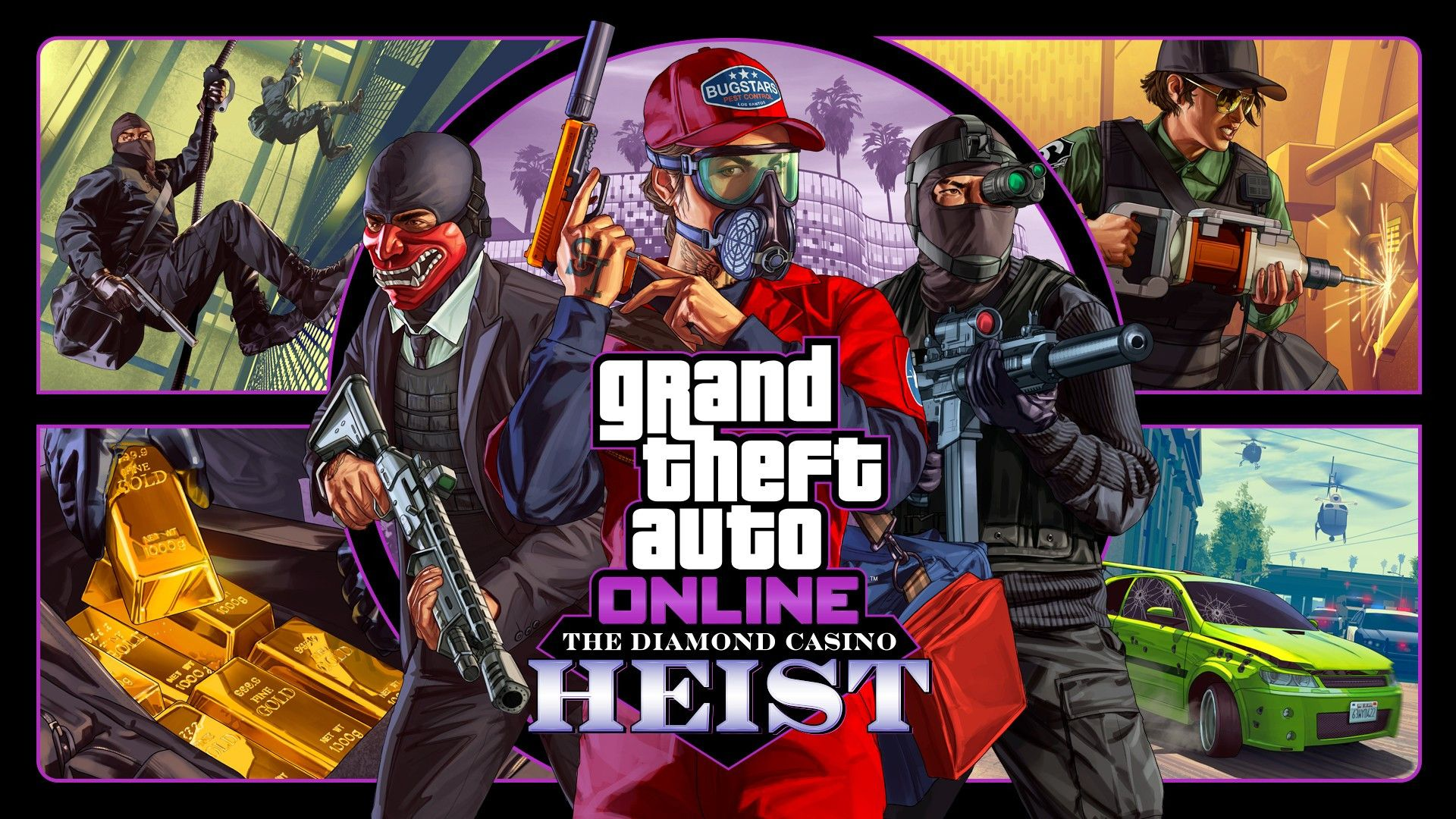 The Diamond Casino Heist Is Now Available In Gta Online On Xbox One Planyour Website Gta Online Grand Theft Auto Casino Gta v diamond casion heist wallpaper