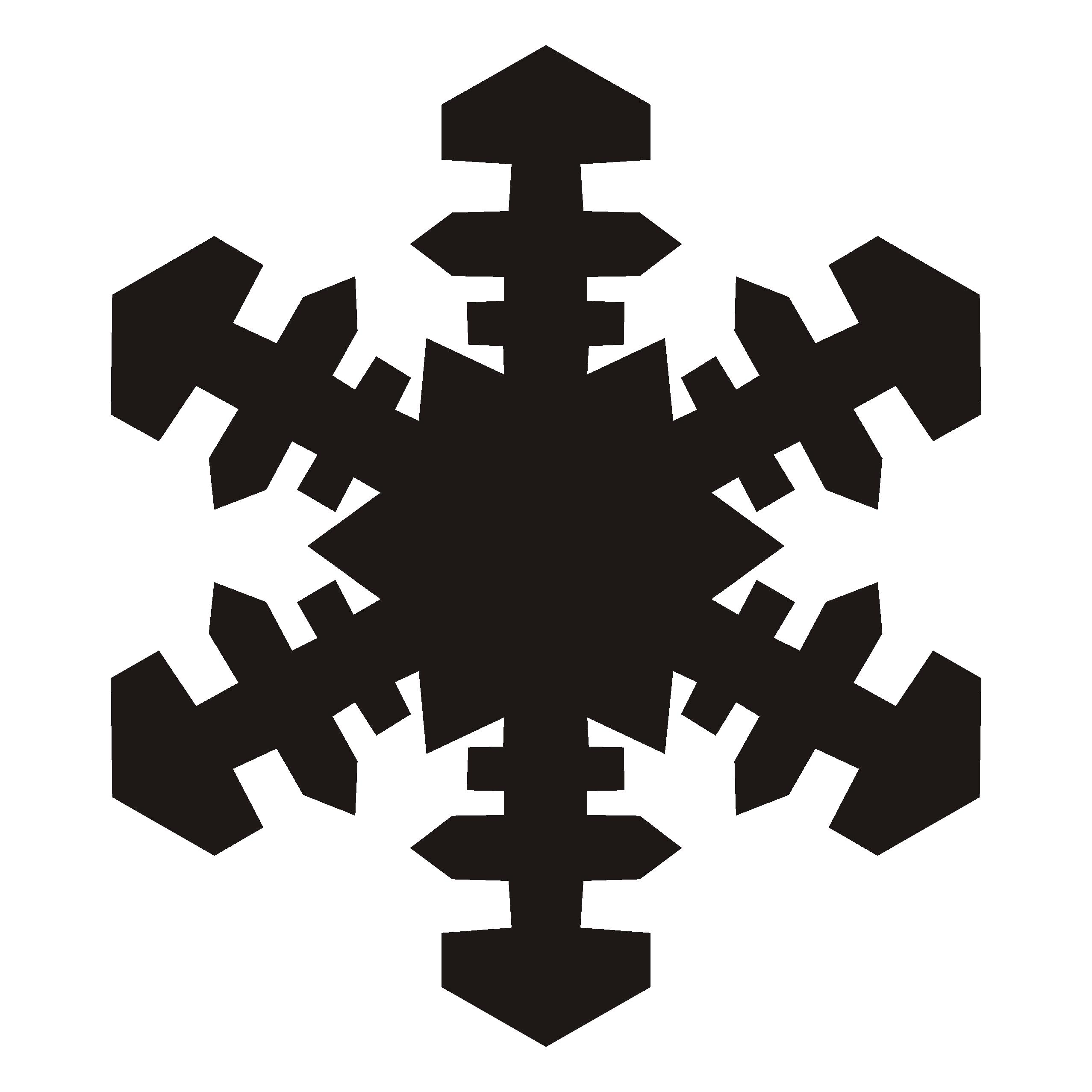 black 20snowflake 20clipart glasgraveren pinterest snowflakes rh pinterest com snowflakes clip art borders snowflakes clip art borders