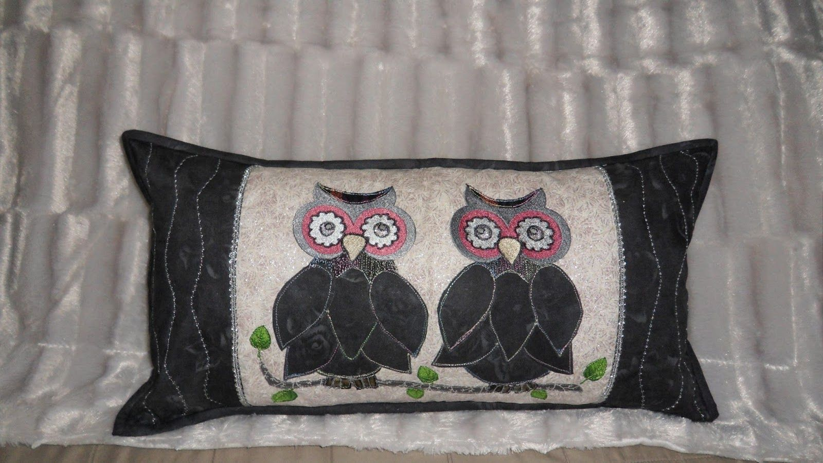 Ugle-pute !-- Owl pillow