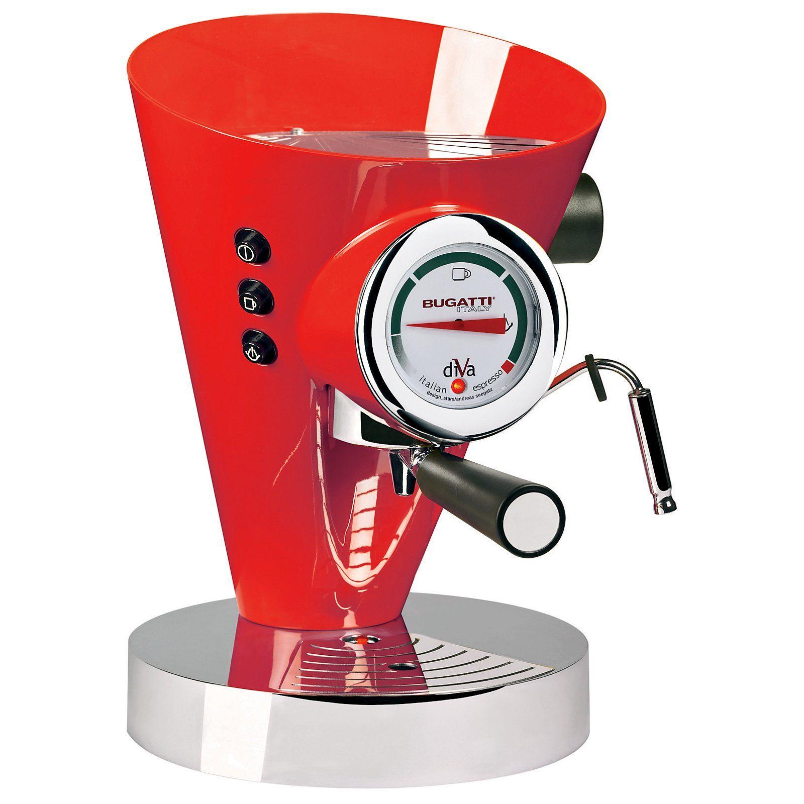Bugatti coffee maker Divas, Café espresso e Bugatti