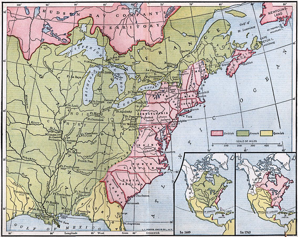 North Louisiana Map.French Posts And Forts In Louisiana And New France 1754 A Map Of