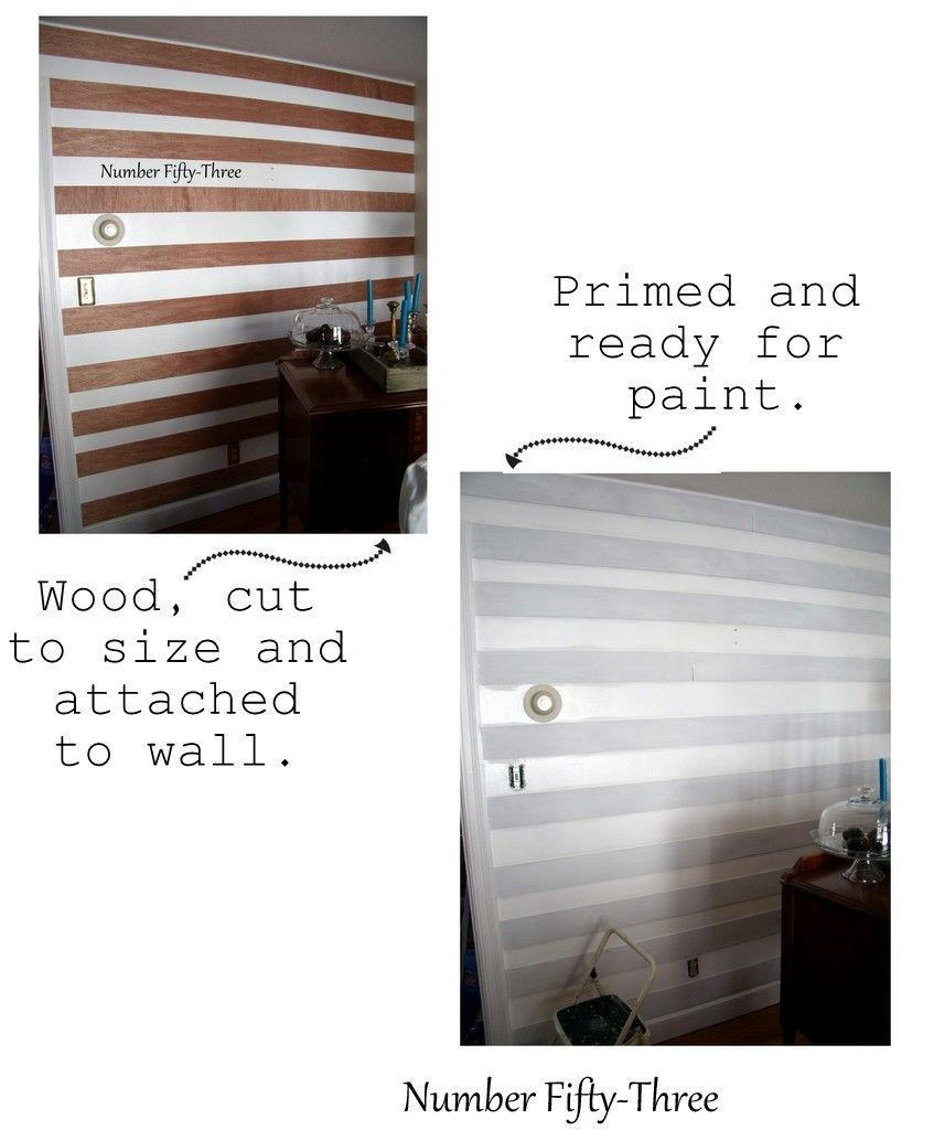 Easy & Inexpensive Planked Wall. Paint wall, get plywood cut to ...