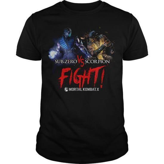 Mortal Kombat X Fight #T-shirts
