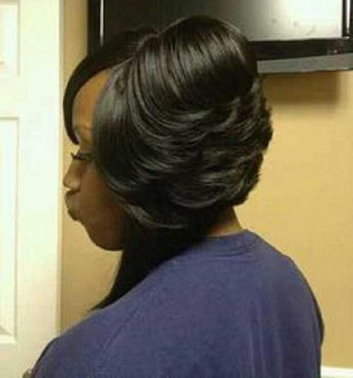 20 Layered Bob Hairstyles for Black Women   hair   Bob Hairstyles ...