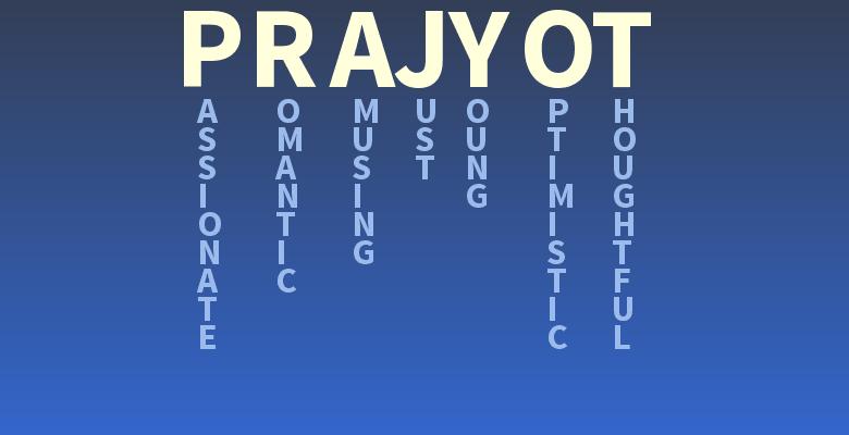 prajyot name