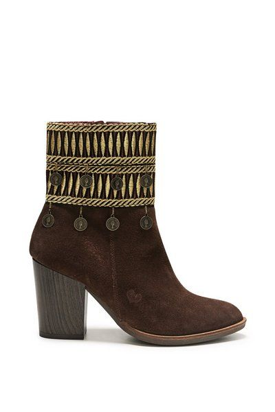Chocolate 17wstlb7 Shoes Folk Pinterest Fw 2017 Exotic Desigual RZAA6q