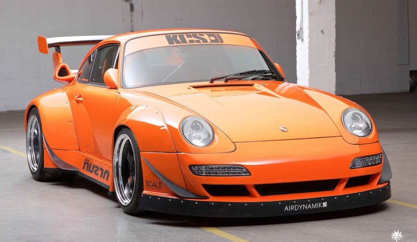 Un Porsche 911 (993) con motor de Corvette a la venta en eBay - http://www.actualidadmotor.com/porsche-911-993-con-motor-de-corvette/