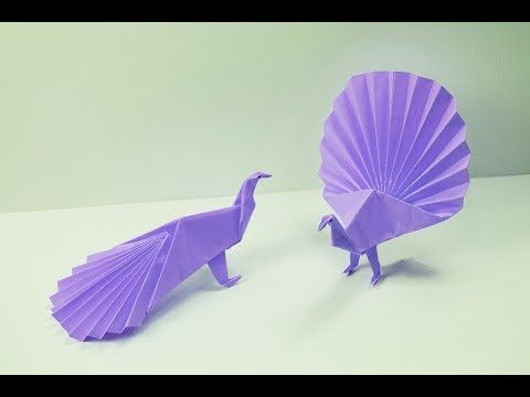 How To Make Origami 3D Parrot