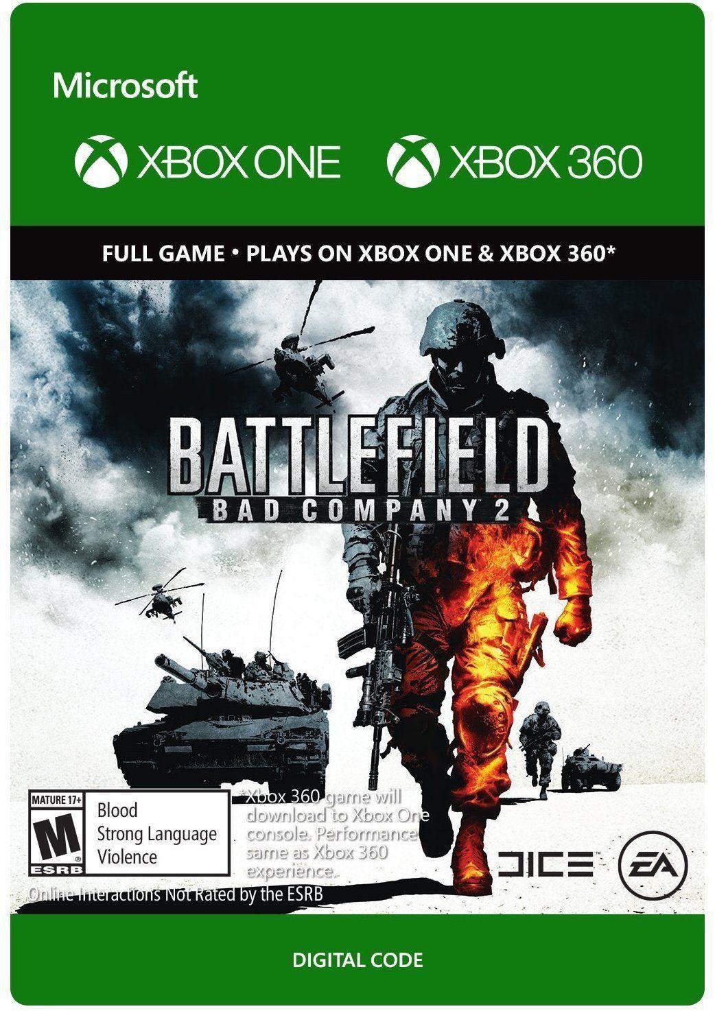Battlefield Bad Company 2 Digital Xbox One 360 Download 4 99 Https T Co X6ggca7ikj Slickdeals Battlefield Bad Company Xbox One Battlefield Bad Company 2