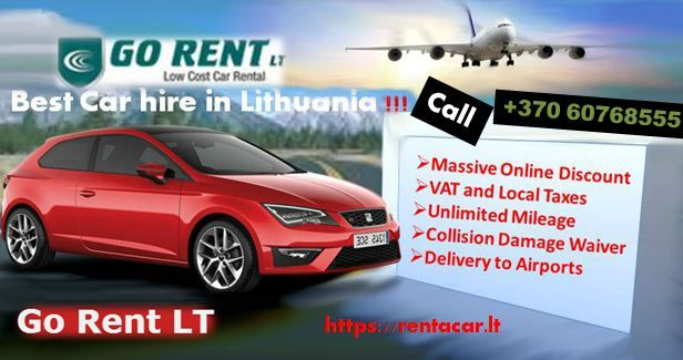 Go Rent Lt Offers Low Cost Car Hire In Kaunas Airport With Best Price And Fully Comprehensive Insurance Get Special