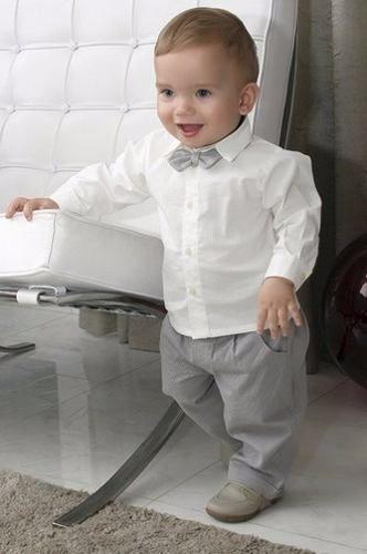 34bb2daf9f conjunto infantil masculino para batizado ou aniversário