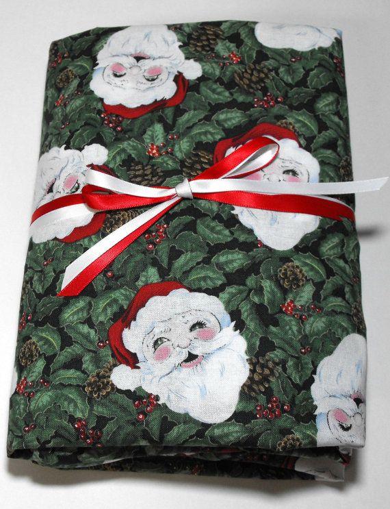 christmas crib sheet santa and holly fits standard by kidssheets 2199