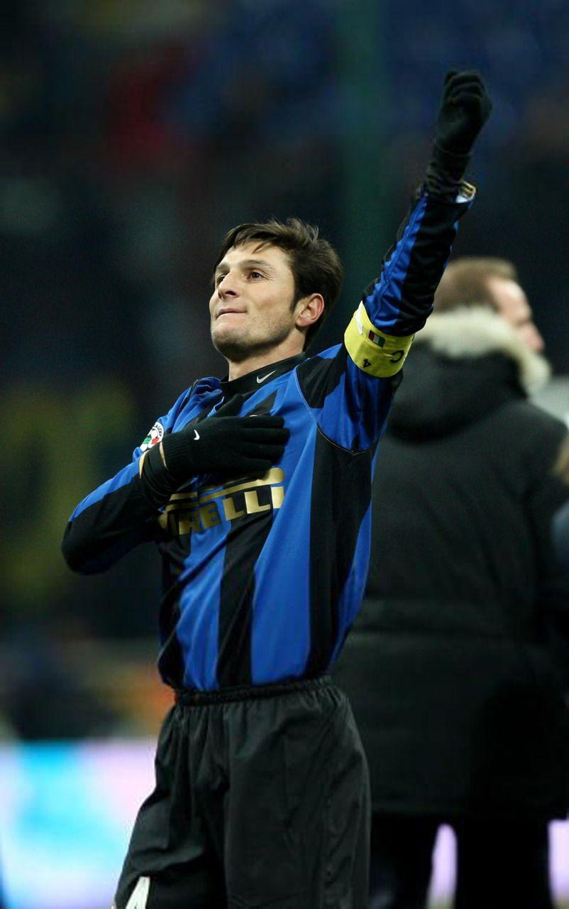 14 Javier Zanetti right back Argentina