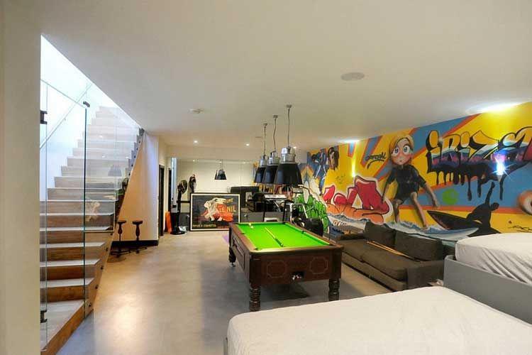 Ideas para decorar una sala de billar en casa De Mi interes mix - ideas para decorar la sala