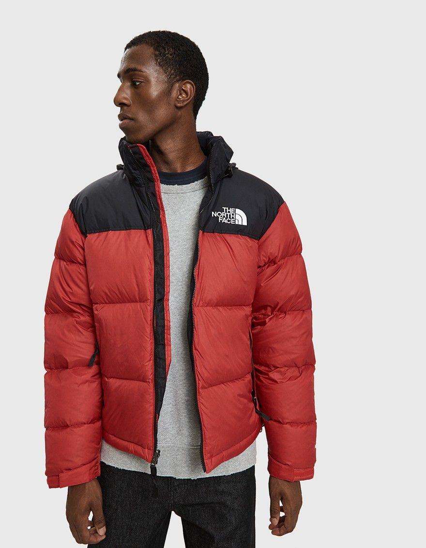 The North Face Black Box 1996 Rto Nuptse Down Jacket In Tnf Red North Face Jacket North Face Puffer Jacket North Face Waterproof Jacket