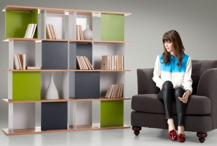 Truly Innovative Design Seamlessly Combines Style With Practicality, Just  Like The Lichen Large Modular Shelves In Multicolour.