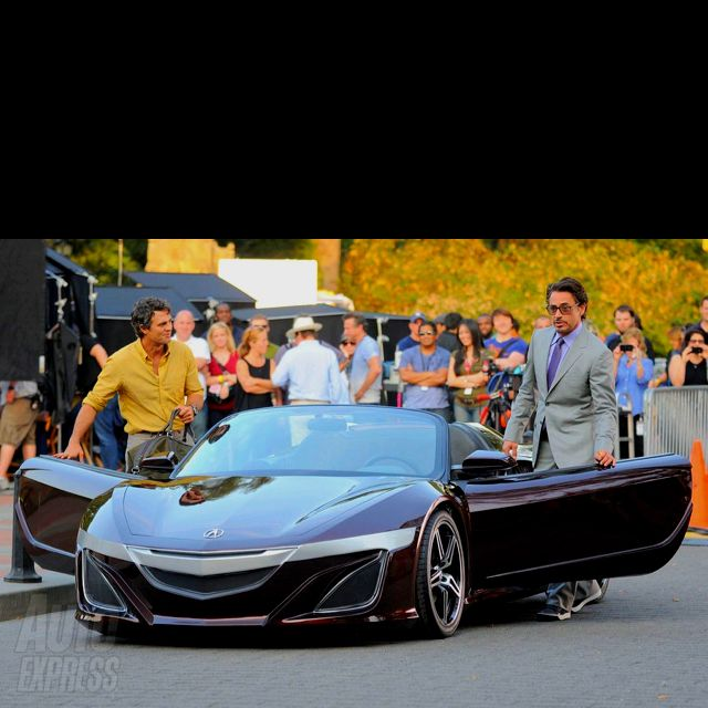 New NSX In The Filming Of The Avengers