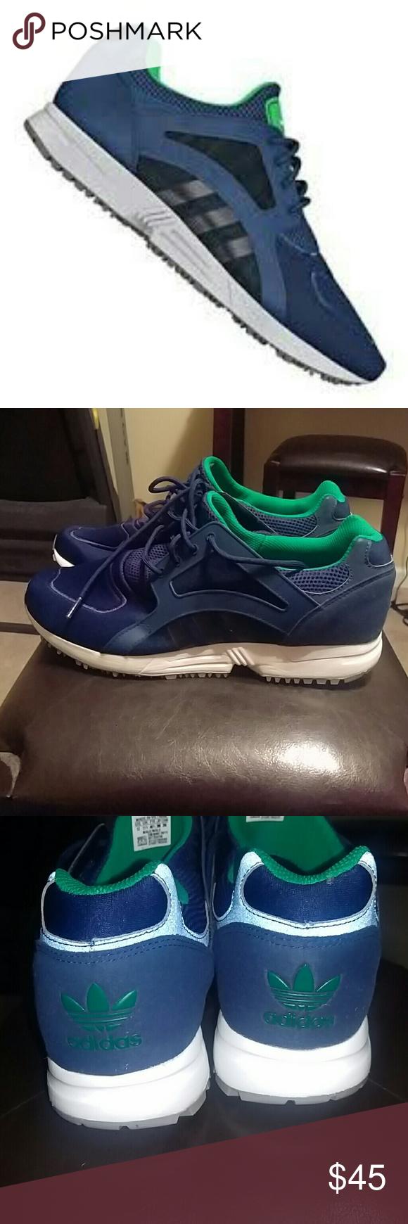 New Adidas Originals racer Lite Men Sneakers Training  Running B24798 Blue White