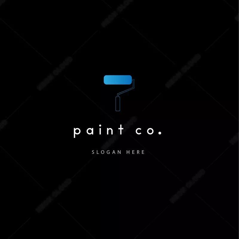 Editable Logotemplates: Painting Company Logo Template En 2020