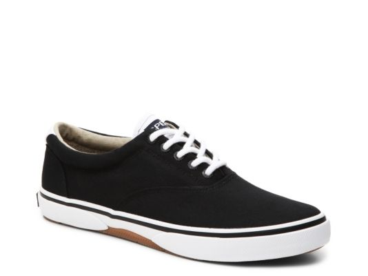 Men's Sperry Top-Sider Halyard Sneaker - Black