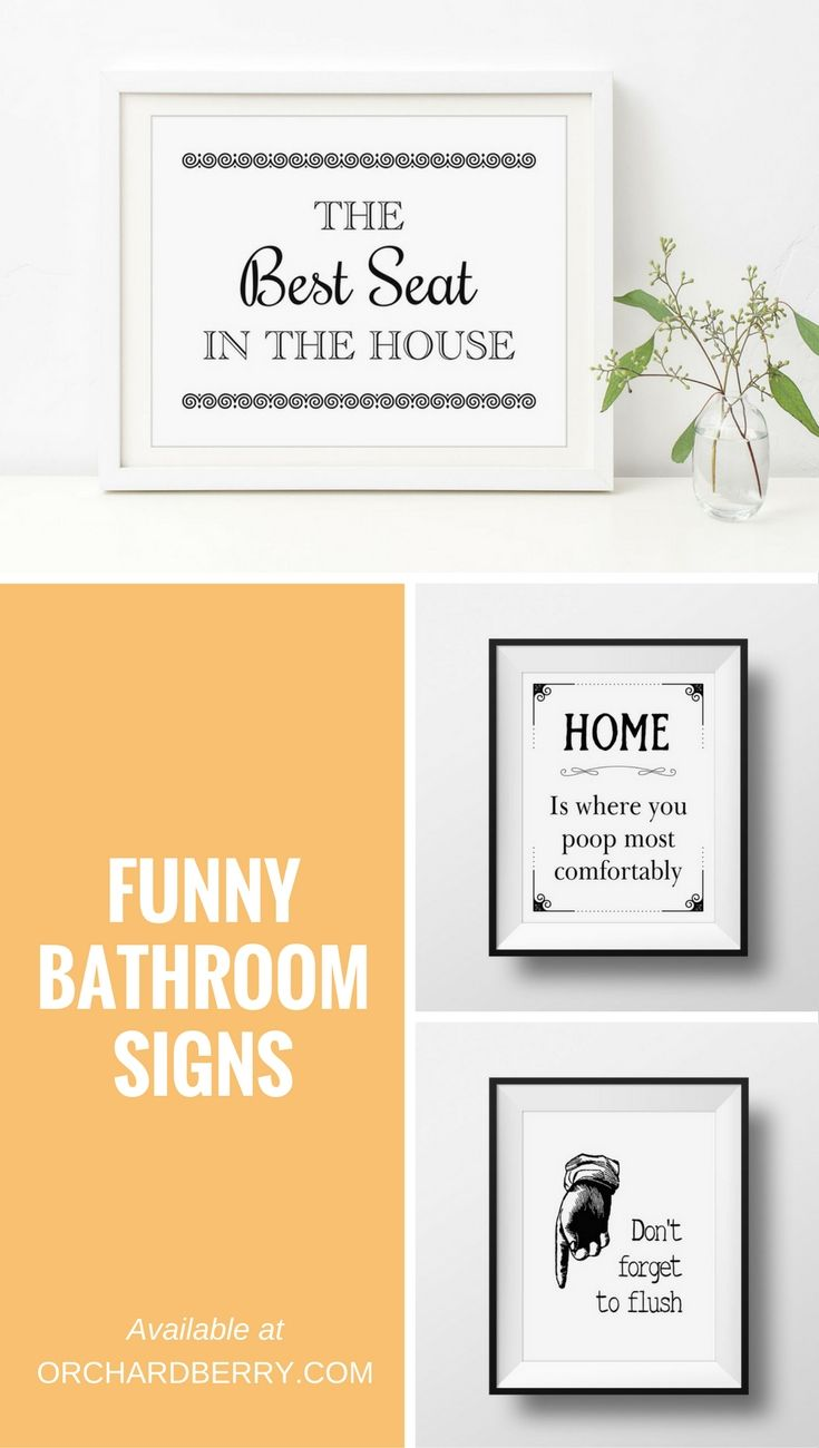 The Best Seat In The House Bathroom Poster Zazzle Com Bathroom Signs Bathroom Humor Funny Bathroom Signs