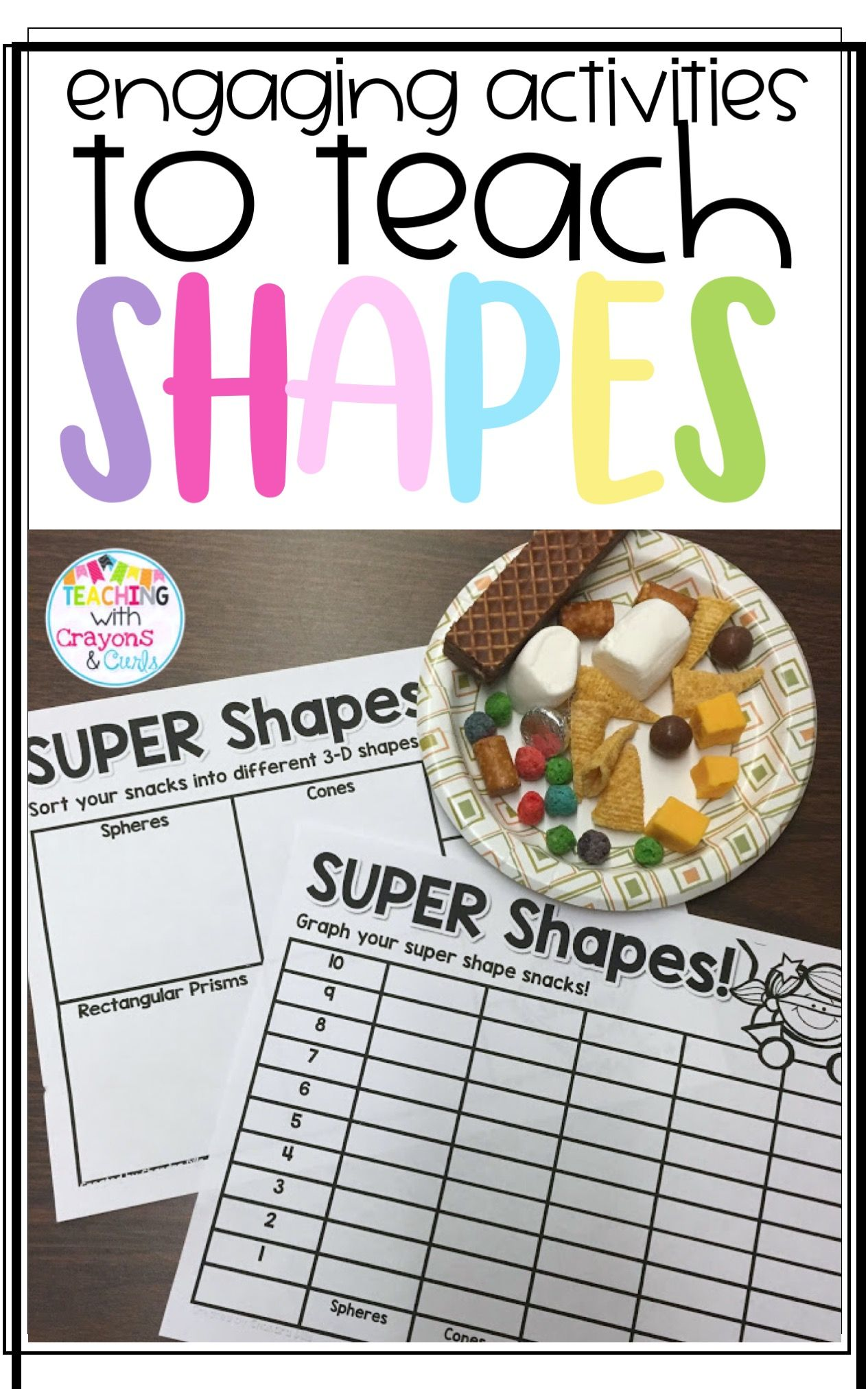 Smiles And Shapes Hands On Shape Fun