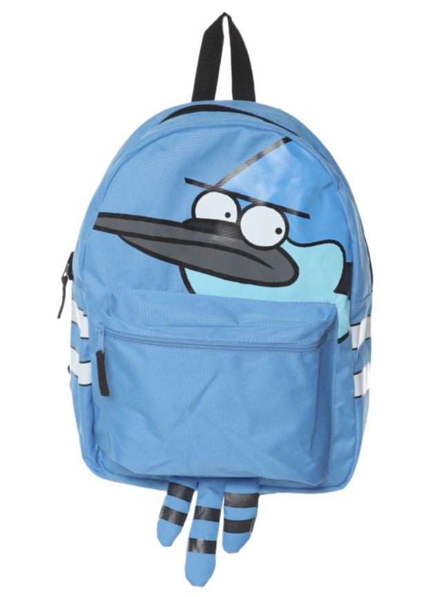 5d2cefbfe266 Regular Show Mordecai And Rigby Reversible Backpack   Hot Topic ...