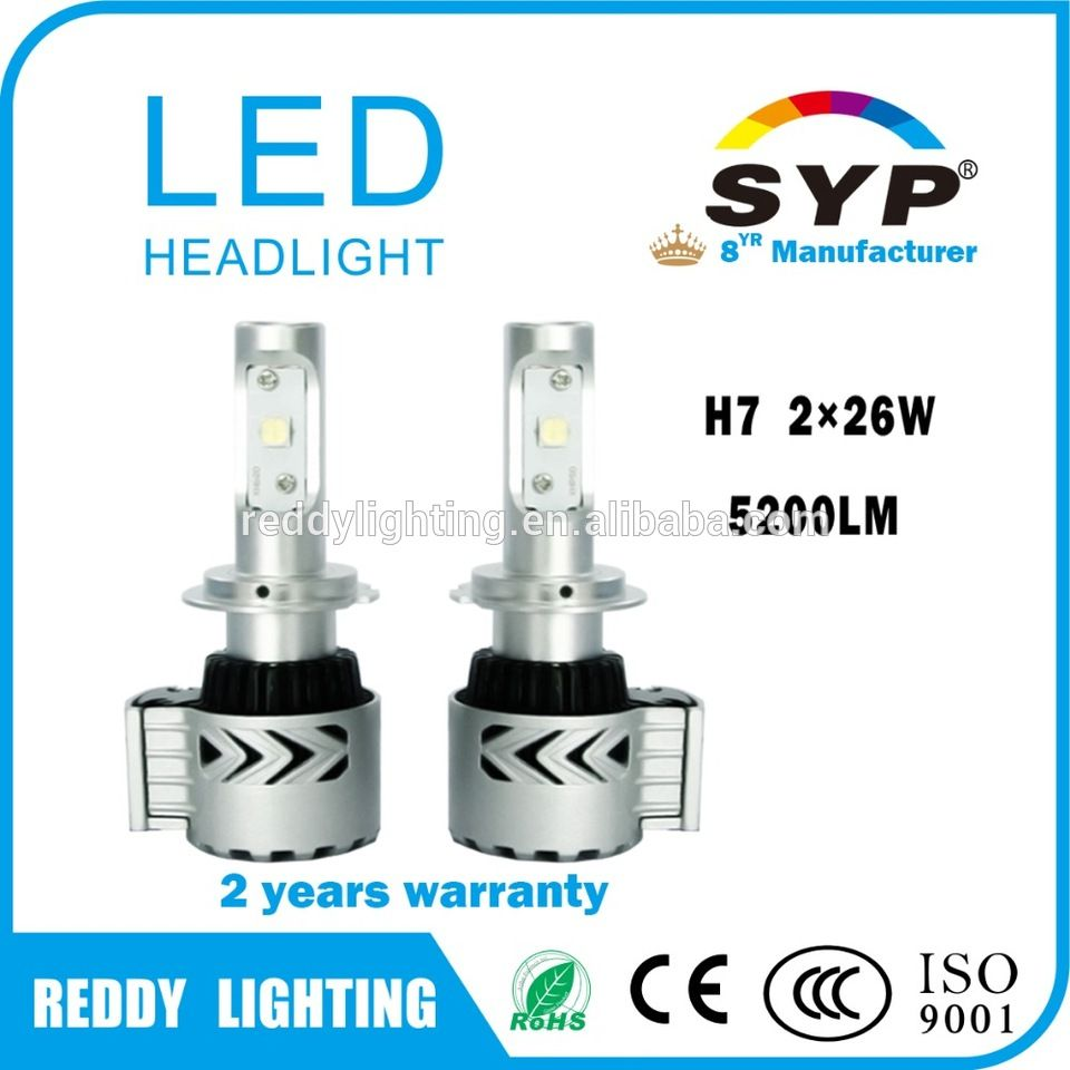 Auto led lamp h4 Crees chip G8 h7 led headlight conversion kit with ...