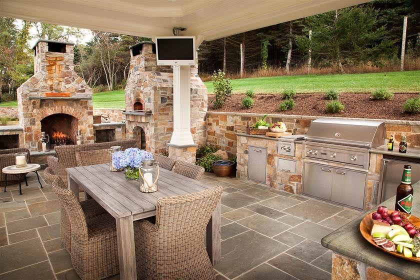 25+ Incredible Outdoor Kitchen Ideas Outdoor Living Pinterest