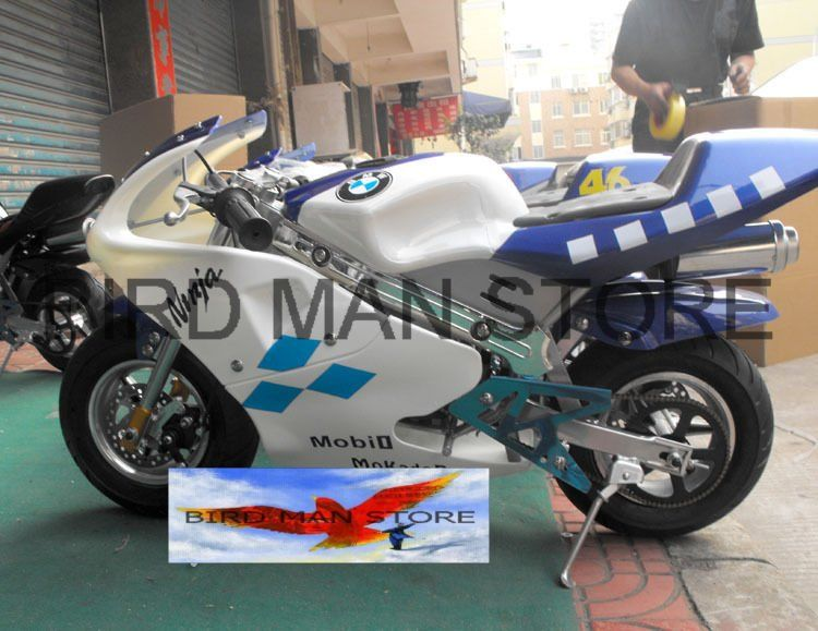 Pocket Bike 49cc Mini Gas Powered Motorbike 2 Stroke Factory